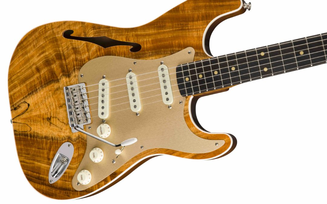 Fender Artisan Thinline Strat