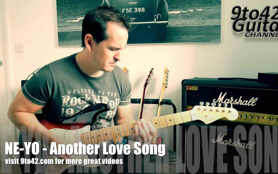 Funk Guitar Lesson Another Love Song by Ne-Yo