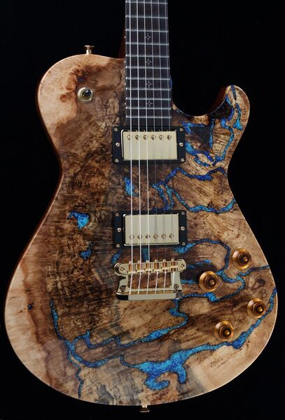 Dream Guitar #2 Kenai Spalt by Knaggs