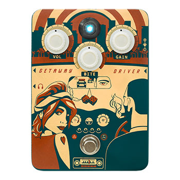 Orange Getaway Driver Overdrive Pedal Review
