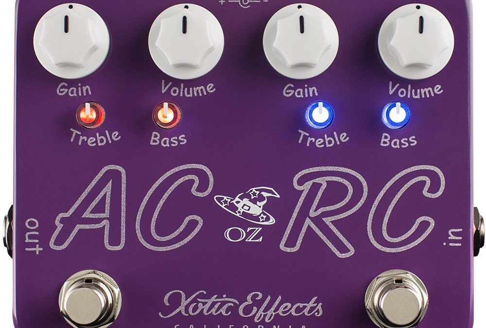 Xotic Ac/Rc-Oz Noy Boost/Overdrive Effects Pedal
