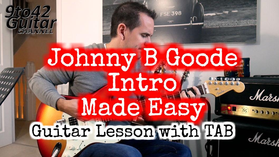 Johnny B Goode Intro Lesson