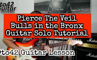 Bulls in the Bronx Guitar Solo TAB
