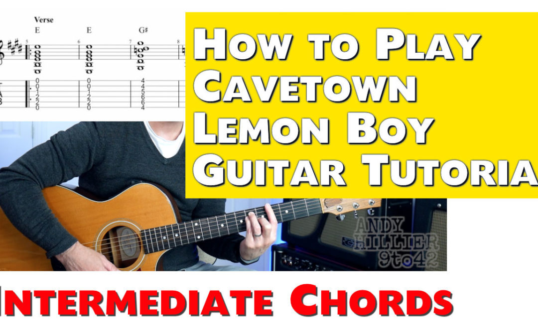Cavetown Lemon Boy Chords