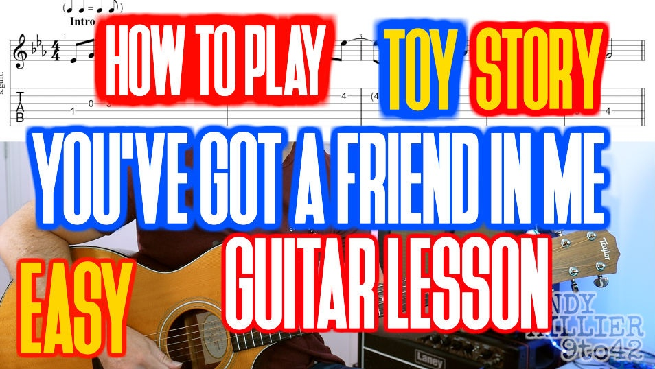 Toy Story You've Got a Friend in Me TAB
