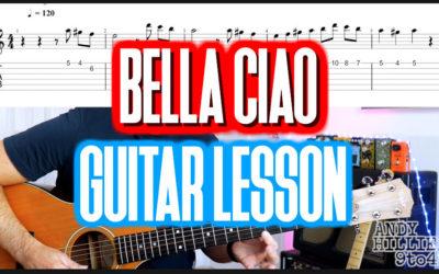 La Casa de Papel – Bella Ciao Guitar Tab