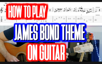 James Bond Theme Guitar Tab