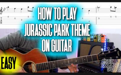 Jurassic Park Theme Guitar TAB