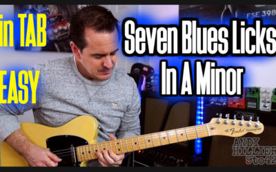 7 Easy Blues Licks in A
