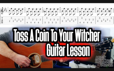 Toss a Coin to Your Witcher Guitar TAB