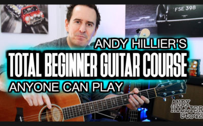 Free Total Beginner Guitar Course