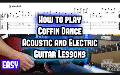 Coffin Dance Guitar Tab