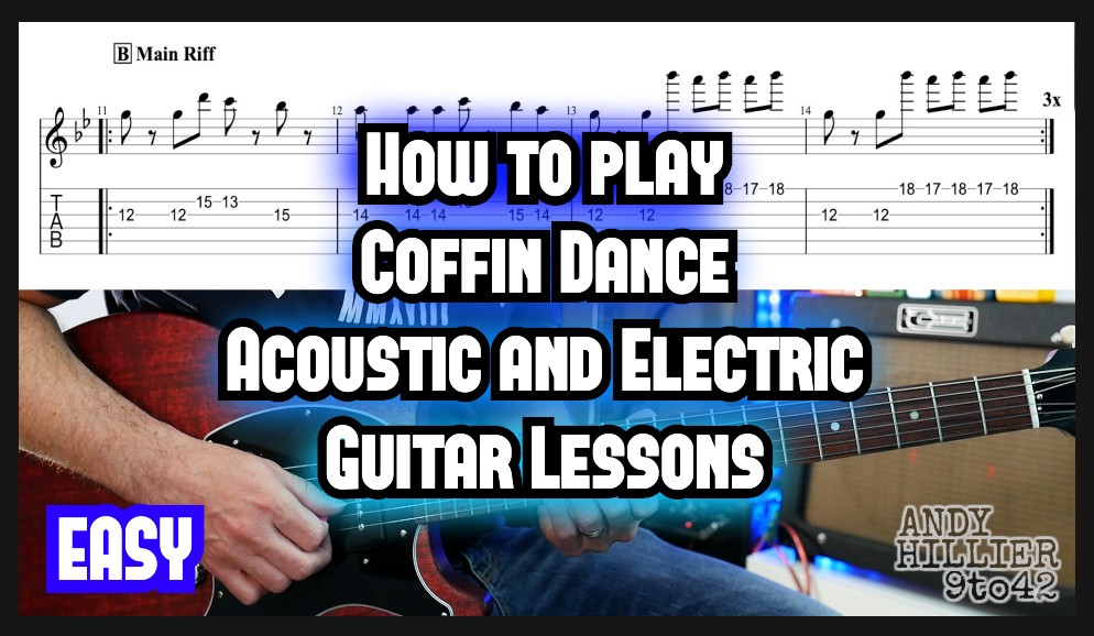 Coffin Dance Guitar Tab