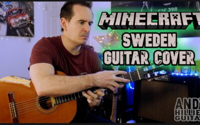 Minecraft Sweden Guitar Cover by Andy Hillier